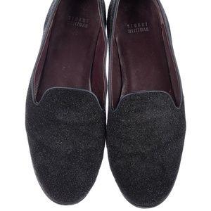 Stuart Weitzman Texture Round Toe Loafers